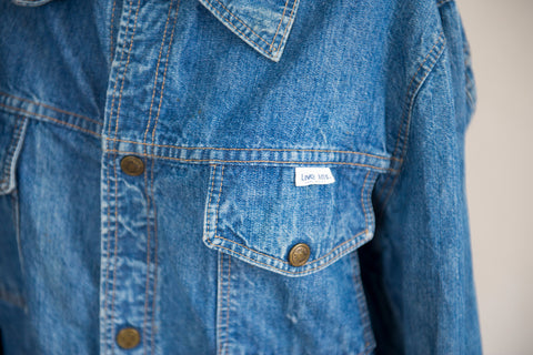 Live Ins Denim Jacket