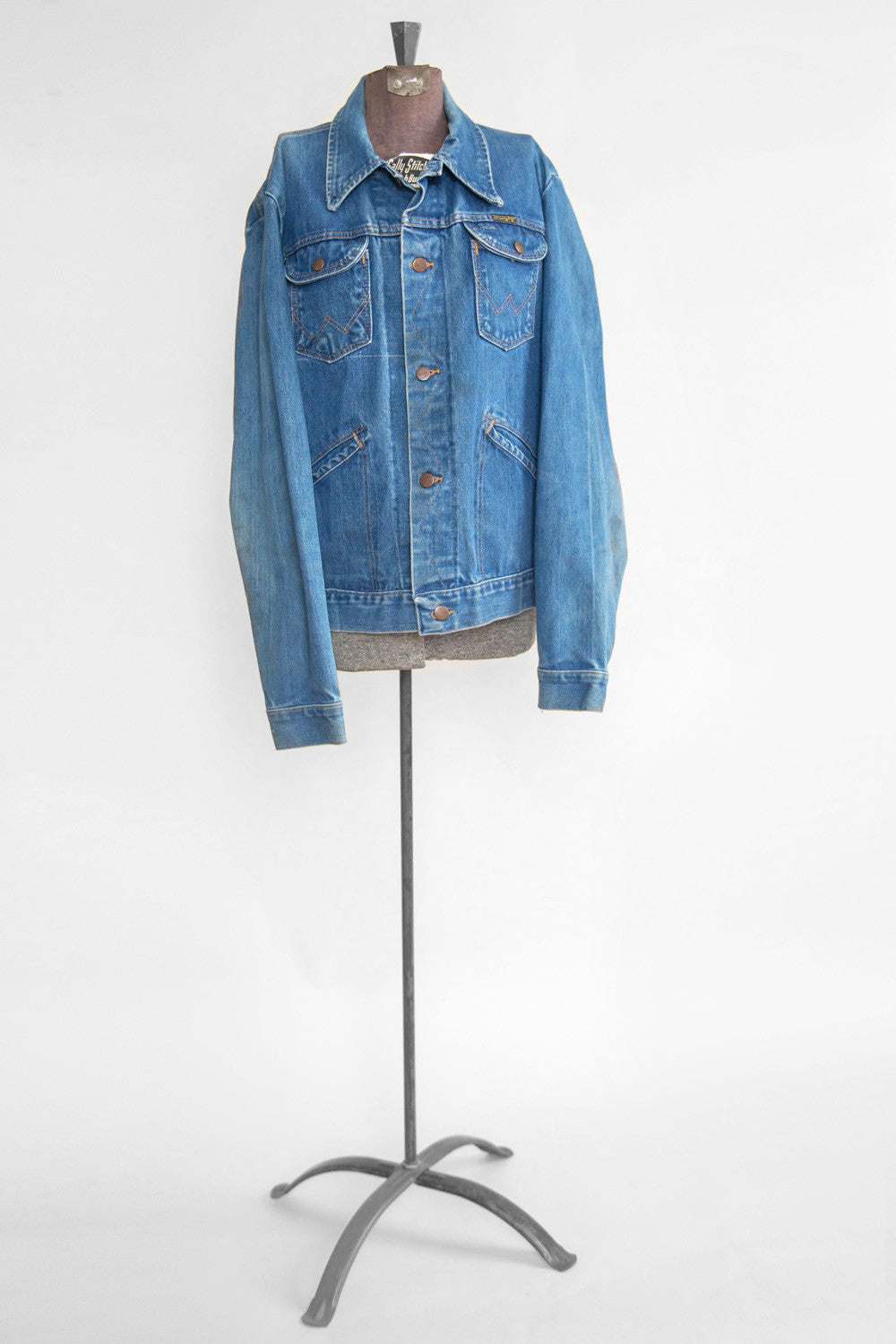 Vintage Women's Denim Wrangler Jacket