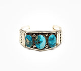 Triple Threat Cuff - Women's Turquoise Jewelry