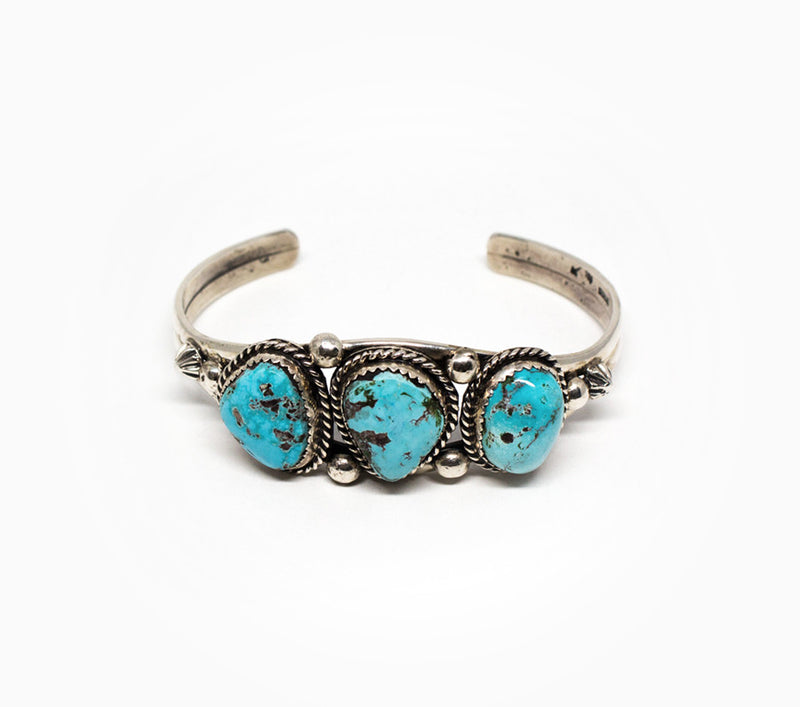 Three Amigos Cuff - Women's Turquoise Jewelry