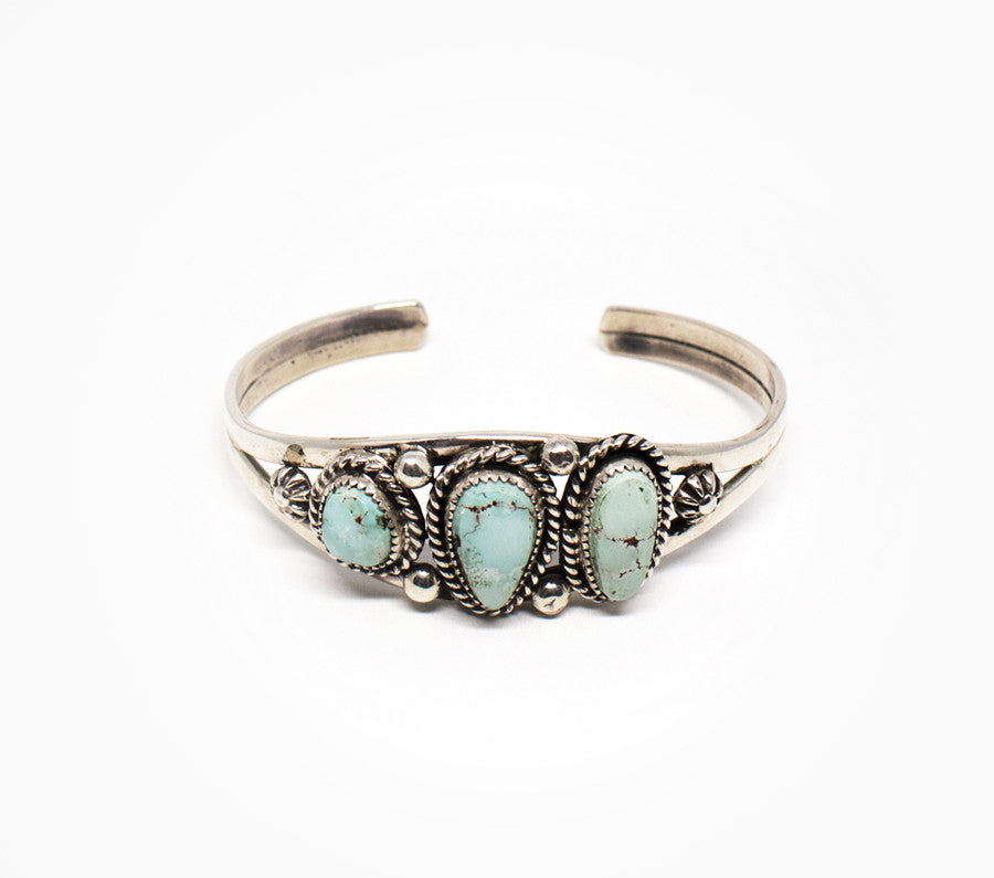Three Suns Cuff - Women's Turquoise Jewelry