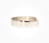 Minimalist Heavyweight Cuff - Women's Silver Jewelry