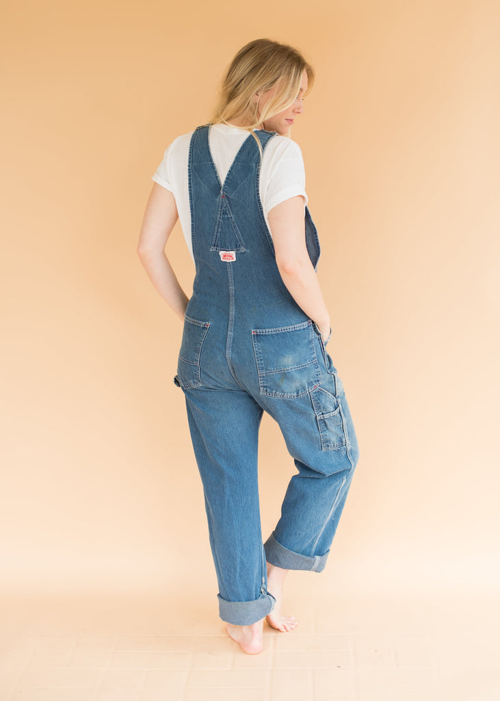 Vintage Round House Overalls