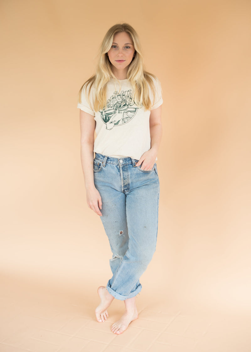 "Worn-in Vintage ""Maine"" Tee"