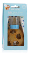 HEVEA Glass Bottle w. Star Ball Cover | Blue