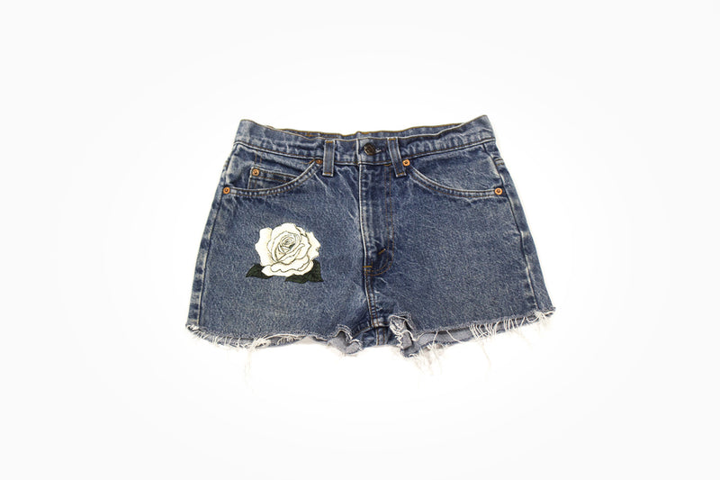 White Rose Vintage Cut Offs