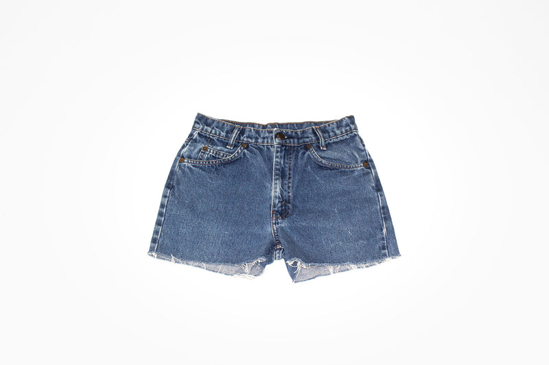 Vintage Denim Classic Embroidered Cut Offs