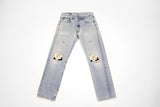 Twin Roses Vintage Levi's - Vintage Women's Denim Levis with Embroidery