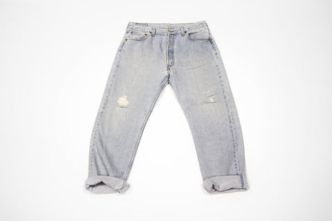 'Blue Jean Baby' Wordplay Vintage Levi's