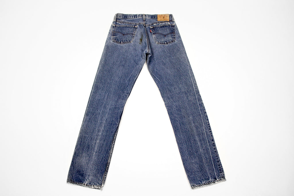 Vintage Denim Levis Women's Jeans Pant with Embroidery