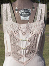 Vintage Women's Pink Intimates - Pink Garden Party Dress