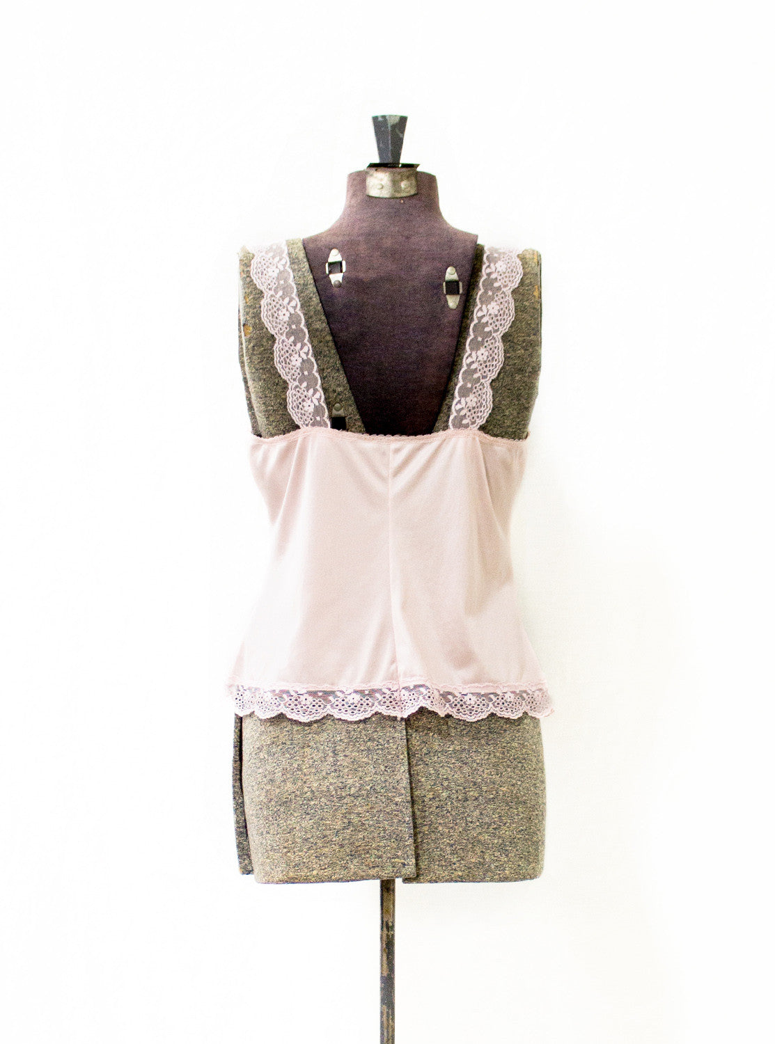 Dusty Pink Slip Top