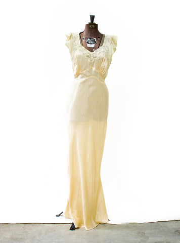 Peaches and Cream Gown