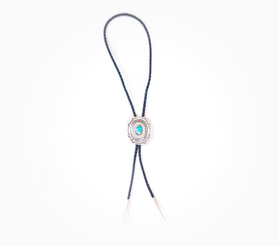 Prosperity Bolo Tie - Vintage Turquoise Accessories