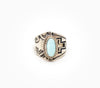 Crossing Paths Ring - Women's Turquoise and Silver Jewelry