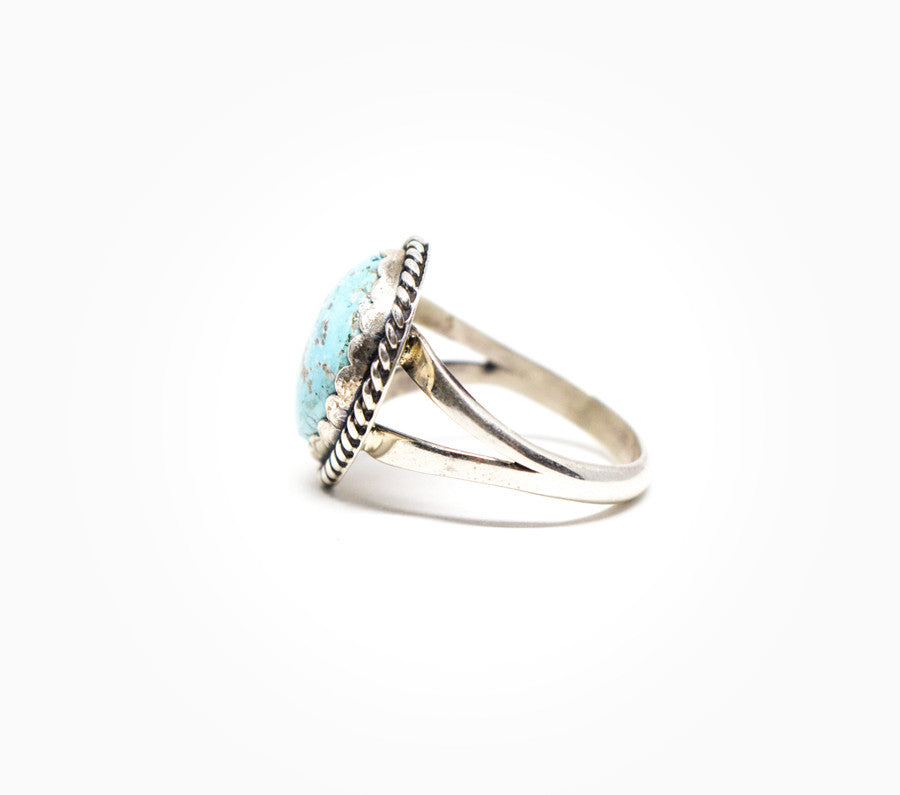 Simplicity Ring - Women's Turquoise and Silver Jewelry