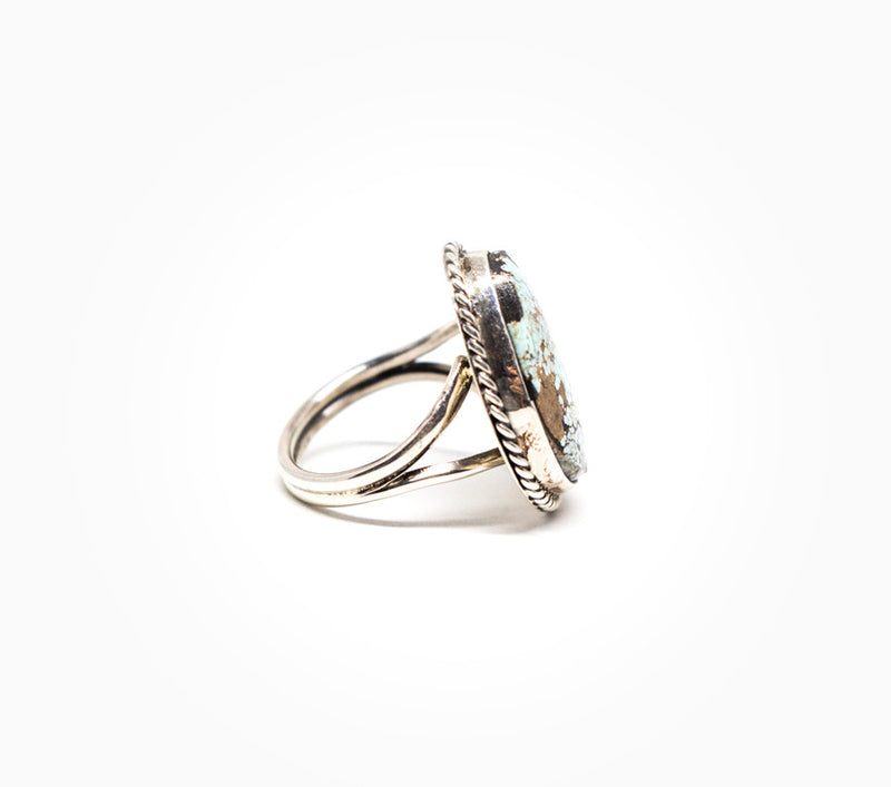 Beholding Beauty Ring - Women's Turquoise and Silver Jewelry
