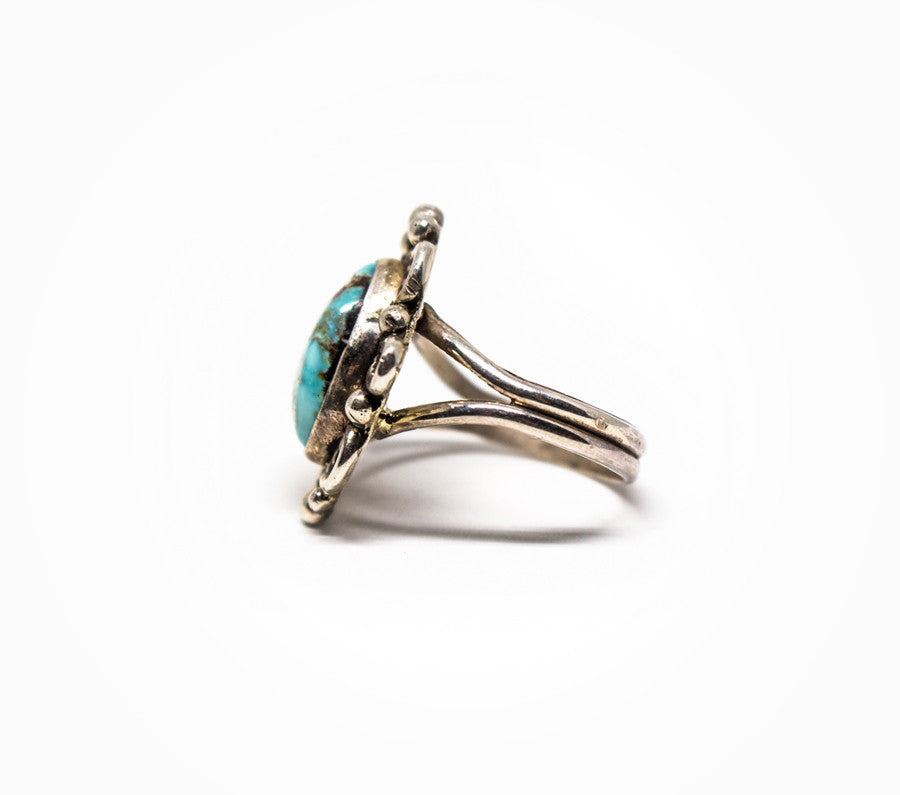 Time After Time Ring - Women's Turquoise and Silver Jewelry