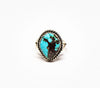 Beautiful Captivity Ring - Women's Turquoise and Silver Jewelry
