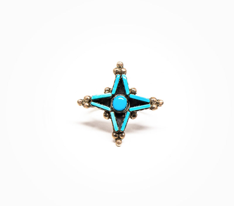 Prosperity Ring - Women's Turquoise and Silver Jewelry