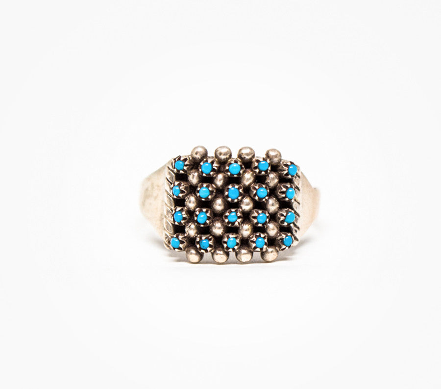 Point in Time Ring - Women's Turquoise and Silver Jewelry