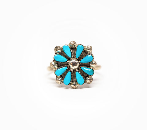 Home Among Flowers Ring