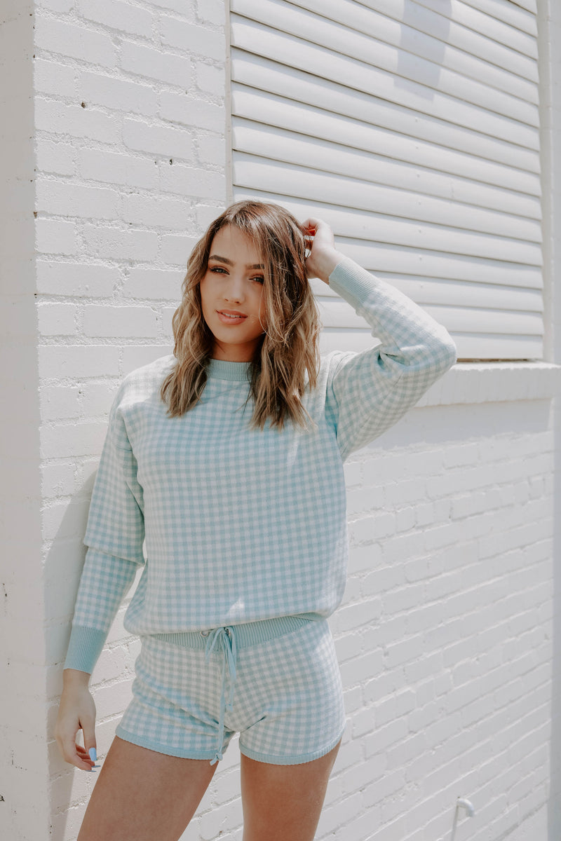 Pastel Plaid Set