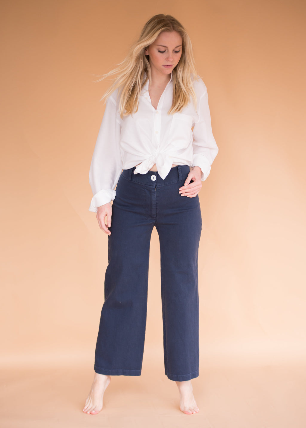 Painter Pant- Indigo - Women's Wide Leg Pants