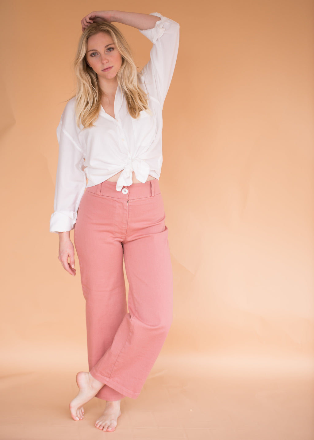Painter Pant - Rose - Women's Wide Leg Pants