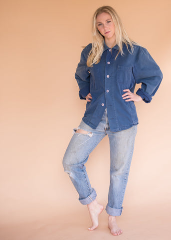 Vintage Women's Denim Wrangler Cropped Jacket