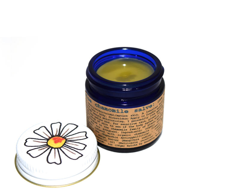 Blue Chamomile Salve - All Natural Lip Balm