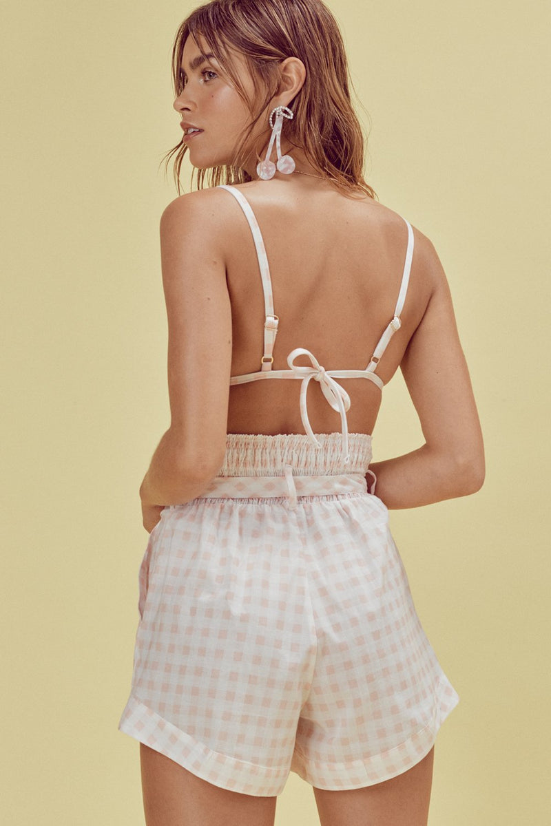 For Love and Lemons Lotti Triangle Top