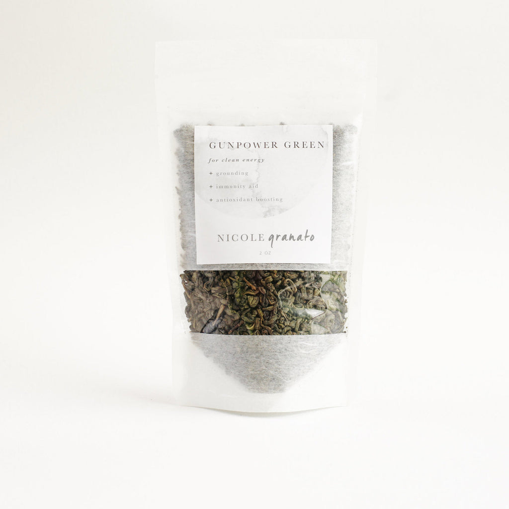 NICOLE GRANATO | Organic Gunpowder Green Tea