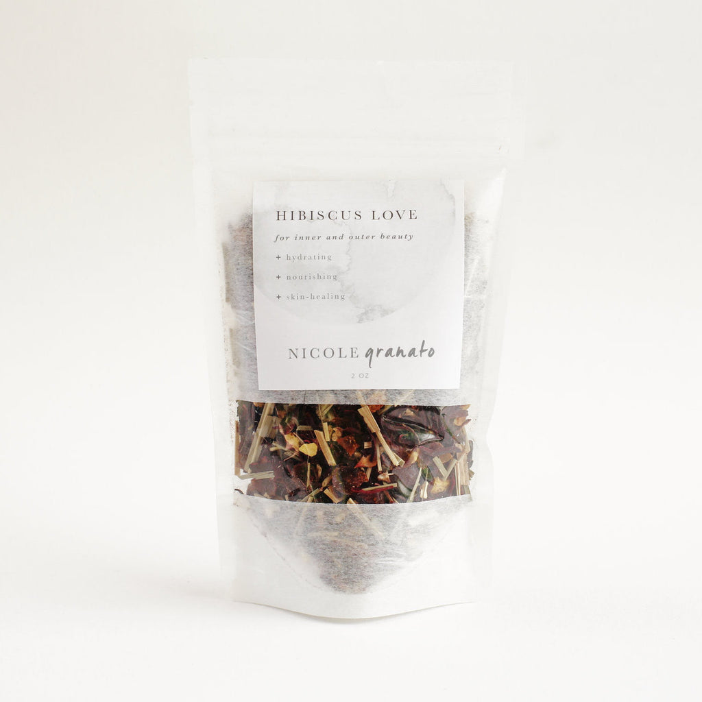 NICOLE GRANATO | Hibiscus Love Beautifying Blend - Tea