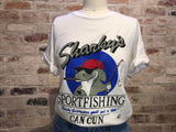"Vintage super soft ""sharky's"" tee"