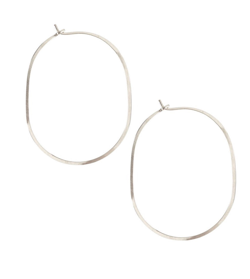 Kris Nations Large Oval Hoops