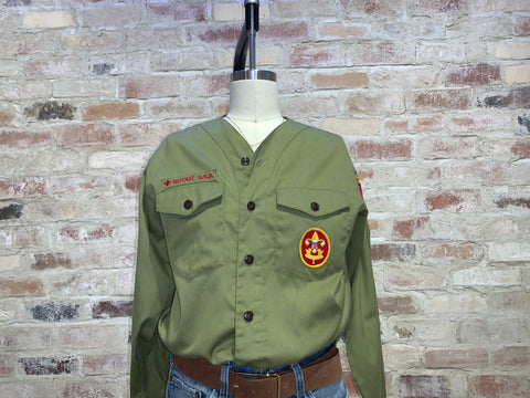 Vintage Green Military Jacket - Vintage Army Jacket