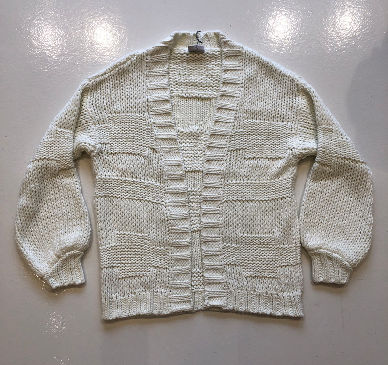 Rue Stiic Cream Cardigan Sweater