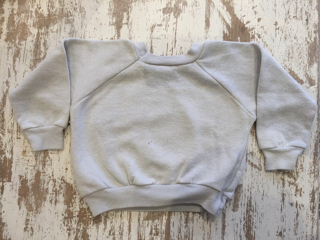 Vintage Kansas State Toddler Sweatshirt - Childrens Vintage Gray Collegiate Sweatshirt