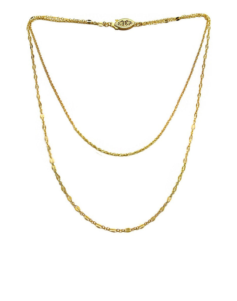 Paradigm Double Chain Necklace