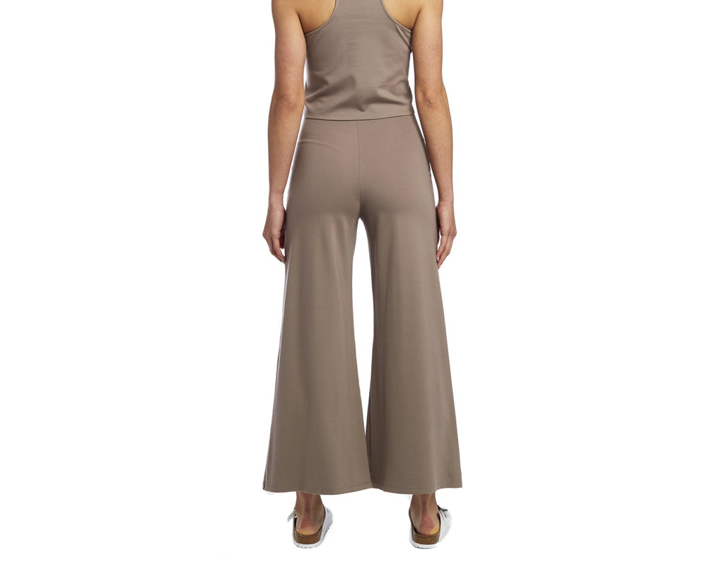 Mocha Wide Leg Pant: ankle edit