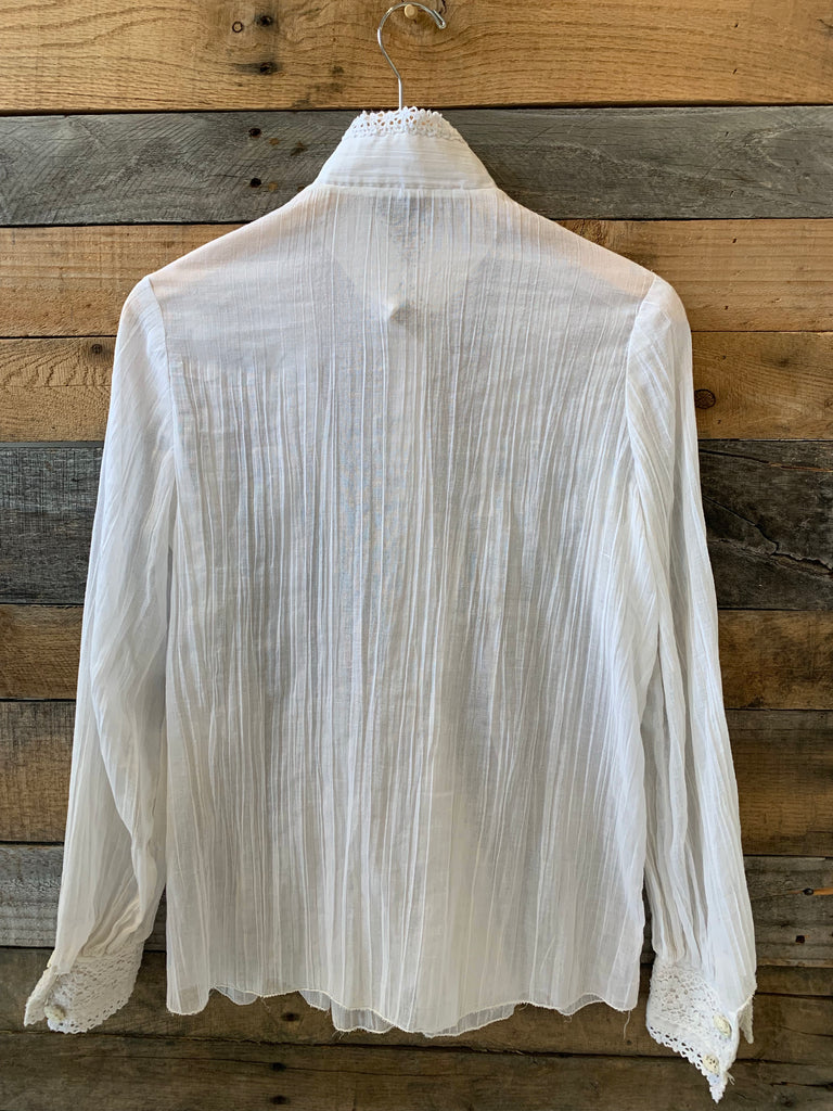 Vintage Elegant Button Down