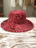 Vintage Pink Cheetah Bucket Hat
