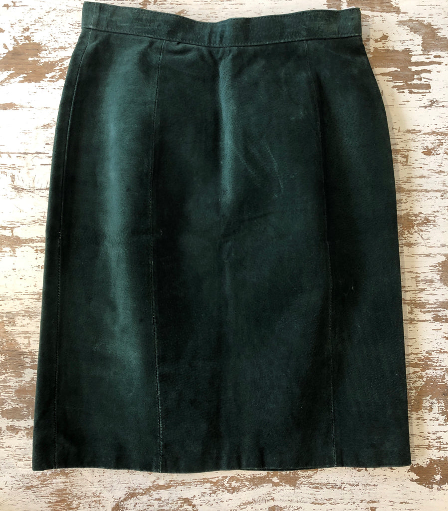 Vintage BB Dakota Suede Skirt