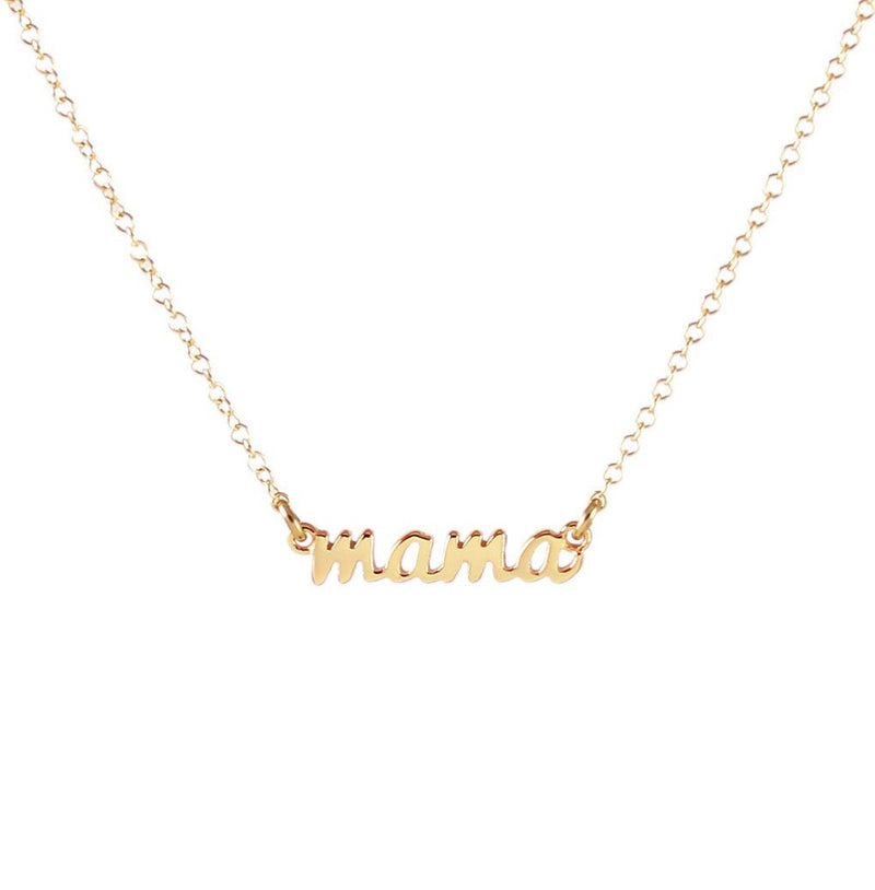 "Kris Nations ""Mama"" Necklace"