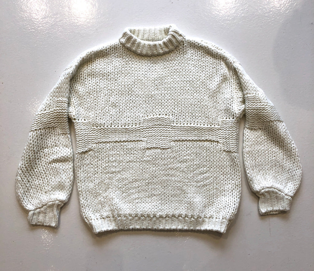 Rue Stiic Off-White Sweater