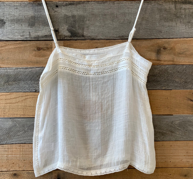 Emory Park Embroidered Tank