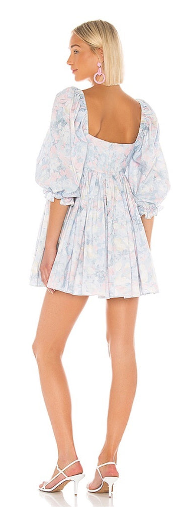 Monet Puff Dress