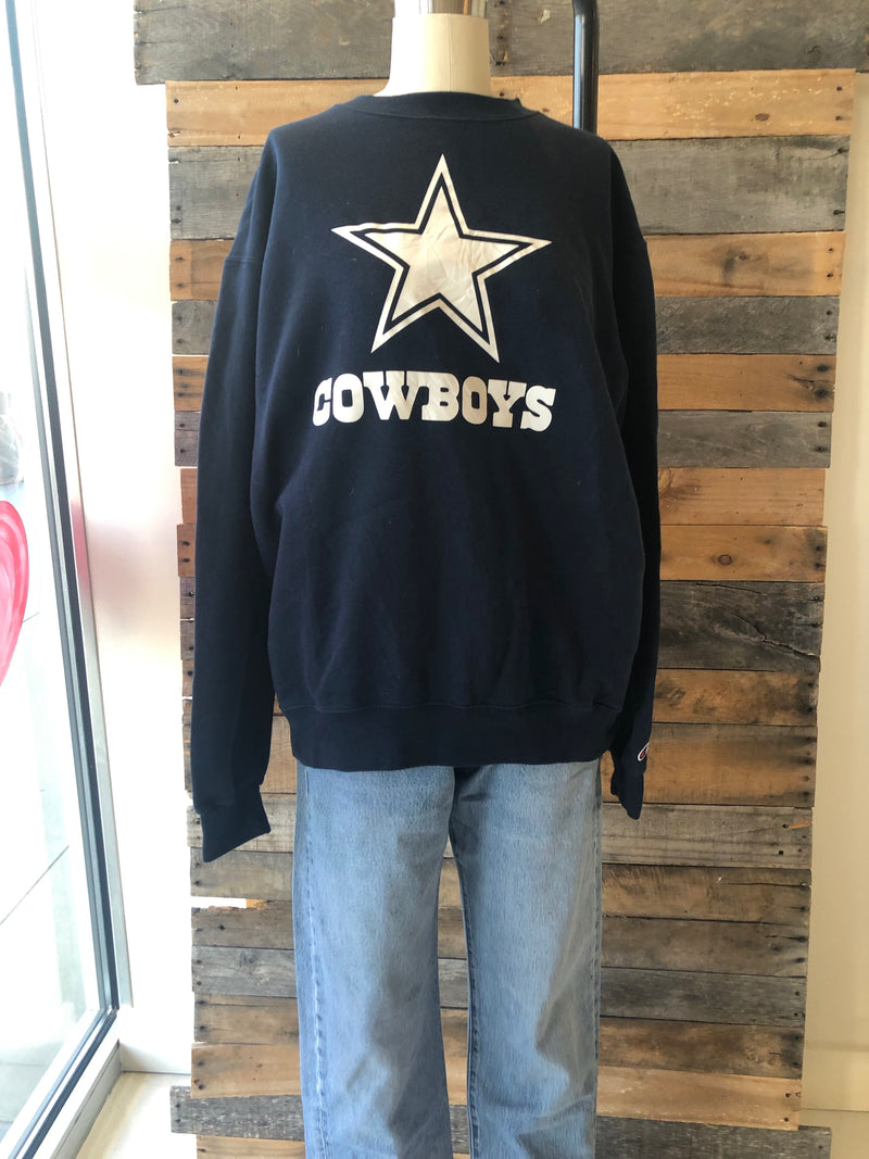 Vintage Cowboys Champion Crewneck