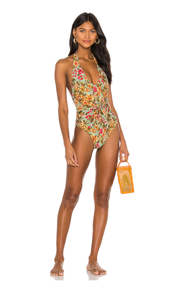 Elle Jay Reese Floral One Piece